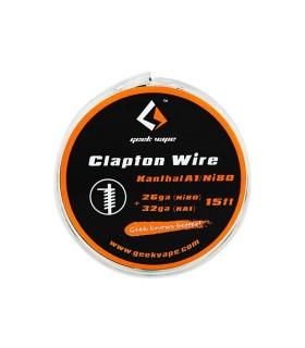 Geek Vape Clapton Kanthal 26 AWG / Ni80 32 AWG (15 Feet/4,5 meters)