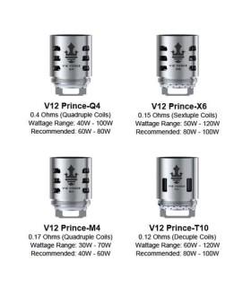 Smok TFV12 Prince coil