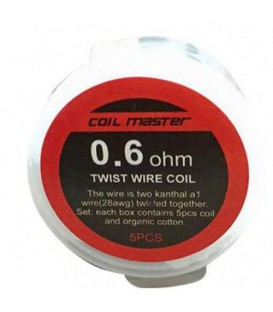 Coil Master Prebuild Twist coil (Pack of 5 pcs)
