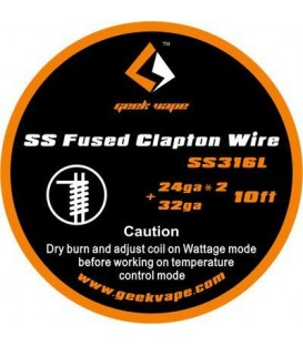 Geek Vape Fused Clapton wire (15 feet / 4,5 meters)