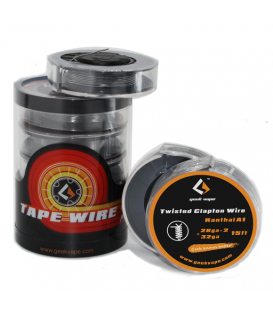 Geek Vape Twisted Clapton Wire 28 AWG *2 (15 feet / 4,5 meters)