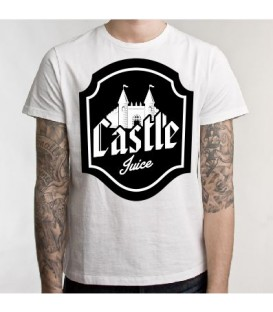 T-shirt Castle Juice with shield