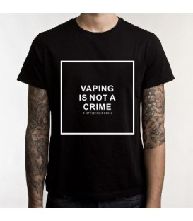 T-shirt Cstyle Vaping is not a crime