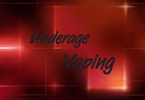 UNDERAGE VAPING (ENGLISH VERSION)